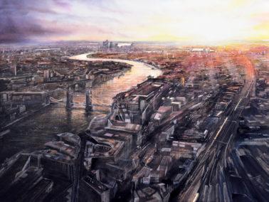 deborah-walker-SunrisefromtheShard