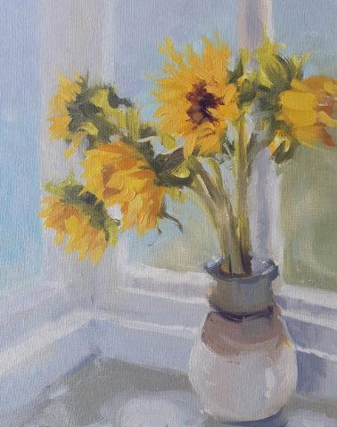 jenny_aitken-SunflowersintheWindow