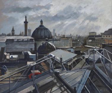 Andrew_Hird-RooftopsAroundTrafalgarSquareWinterShowers