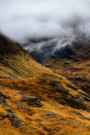 James_Fortune-Between Beinn Fhada and Stob Coire Raineach, Glencoe