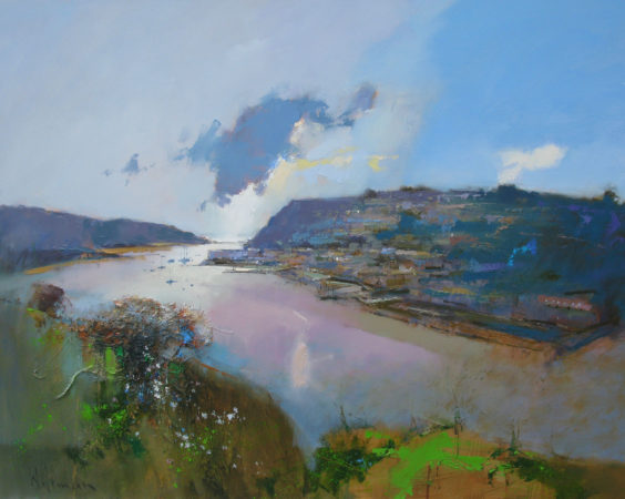 Peter Wileman-Afternoon Light, Salcombe