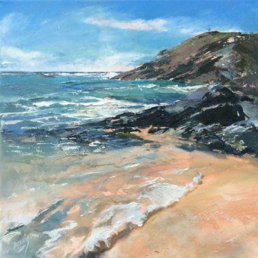 Beaching waves, Constantine Bay